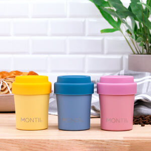 Montii Kids Reusable 'Matchy' Insulated Babyccino Cup