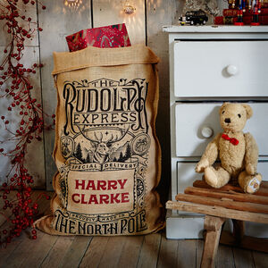 The Whittington Personalised Christmas Sack