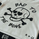 Bad To The Bone Unisex Halloween T Shirt