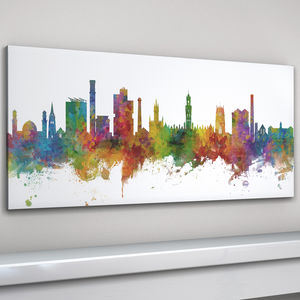 Bradford Skyline Cityscape Art Print - view all new