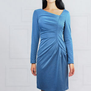 Frieda Dress Blue - dresses