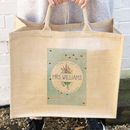 Illustrated Bumble Bee Personalised Jute Bag