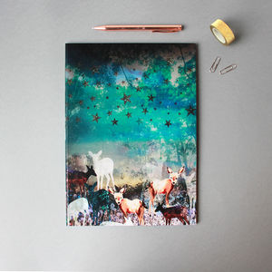A4 Deer Enchanted Notebook