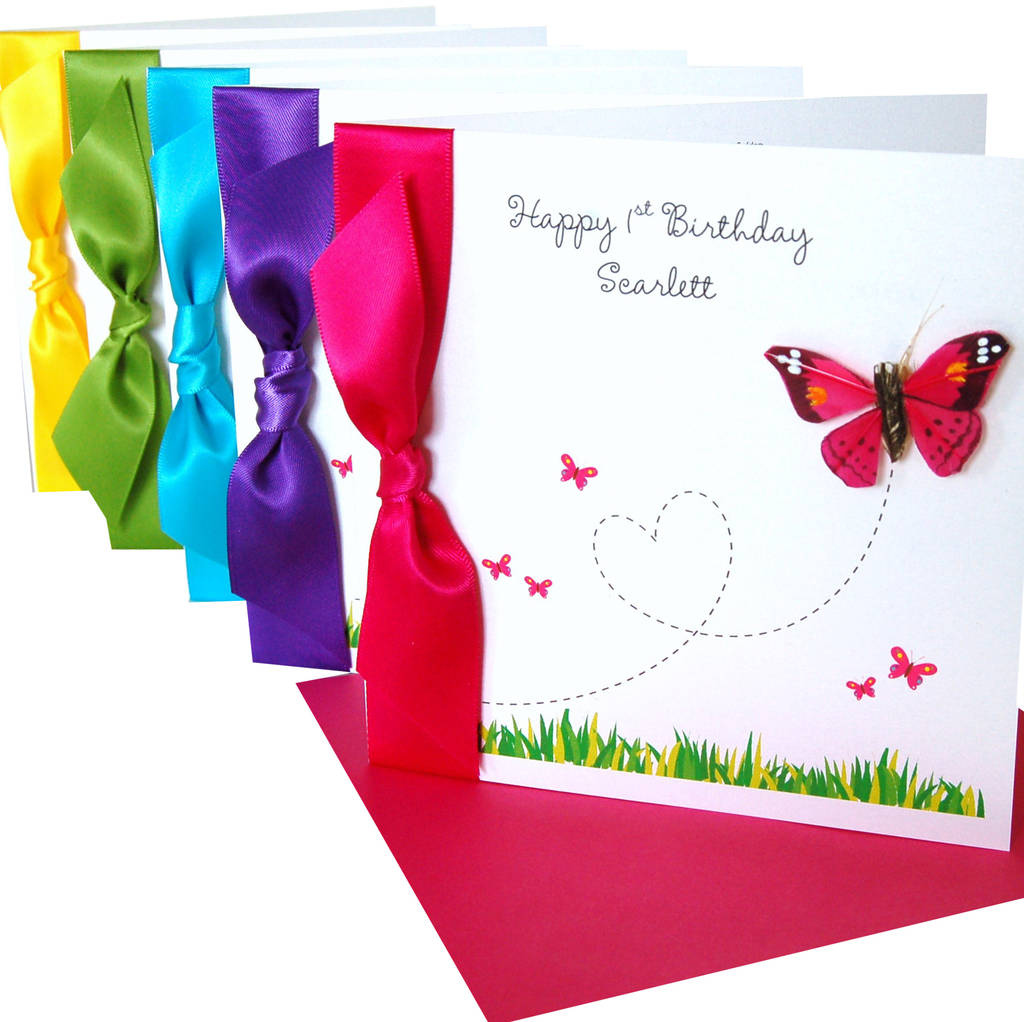 flutterby fancies butterfly birthday card by made with love – Butterfly Birthday Card