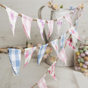Miniature Bunting - room decorations