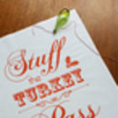 Stuff The Turkey, Pass The Sherry Christmas Tea Towel