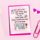 'Screw Valentine's Day' Galentine's Card
