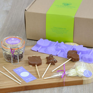 Easter Friends Chocolate Lollipops Kit - novelty chocolates
