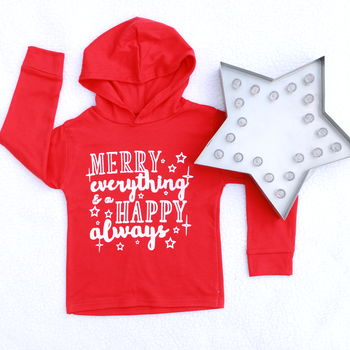 Merry Everything Kids Christmas T Shirt