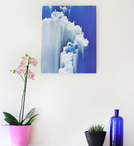 'Clouds' Photographic Print On Aluminium - brand new partners
