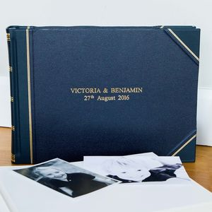 Traditional Landscape Card Album - albums & guest books