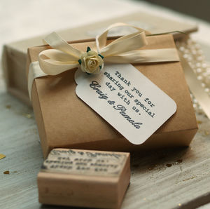 Your Message / Text Customised Rubber Stamp - diy stationery