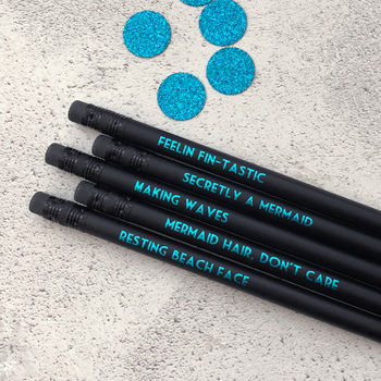 Mermaid Pencil Set: Making Waves