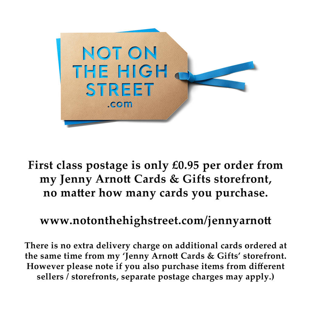 First Class Postage Is Only 095 Per Order From My Jenny Arnott Cards And