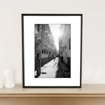 Streets Of Fes, Morocco Art Print