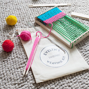Weaving Loom Kit - creative kits & experiences