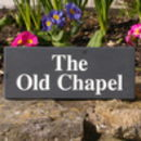 Personalised Slate Name Sign