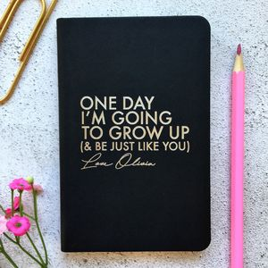 Personalised Just Like You Notebook