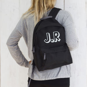 Personalised Sparkly Back Pack - more
