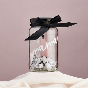 Personalised Messages For Mum Jar