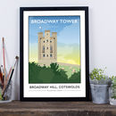 Broadway Tower, Cotswolds, Worcestershire Print