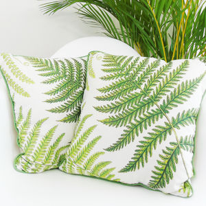 Botanical Fern Cushion - cushions