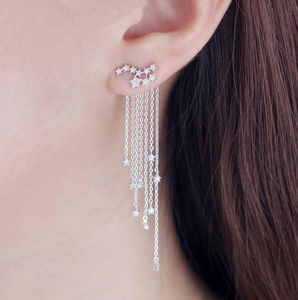 Cascading Star Earrings - earrings