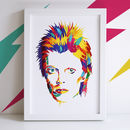 David Bowie Illustrated Print