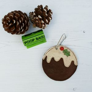 Christmas Pudding Poo Bag Holder