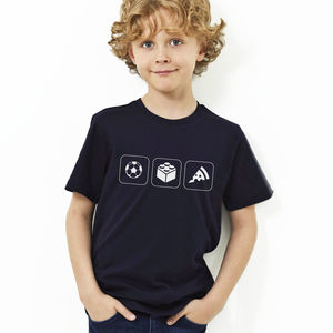 Personalised Child's Hobbies T Shirt