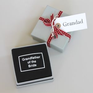 'Grandfather Of The Bride / Groom' Wedding Socks - underwear & socks