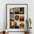 America's National Parks Travel Print