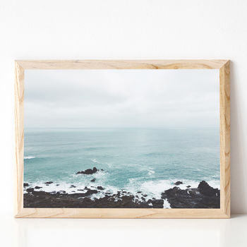 Rocky Shore Coastal Photographic Print