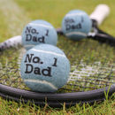 Gifts For Dads 'No.One Dad' Tennis Balls
