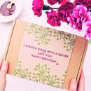 Happy Birthday Sister Face Mask Kit Gift
