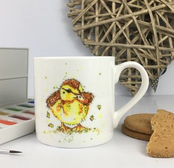 Dilly Ducking, Fine Bone China Mug