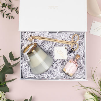 The 'Moment Of Calm' Relaxing Candle Gift Set