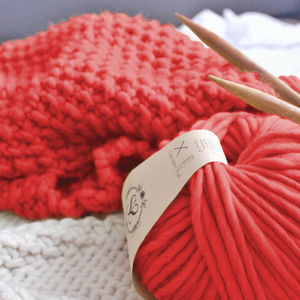 Beginner's Guide To Knit Your Own Snood Kit