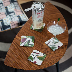 Boxed Set Of Midcentury 'Ventura' Coasters