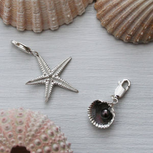 Silver Seaside Charms