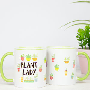 Plant Lady Gift Mug - gifts for her