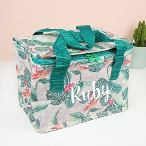 Personalised Lunch Bag - new in garden
