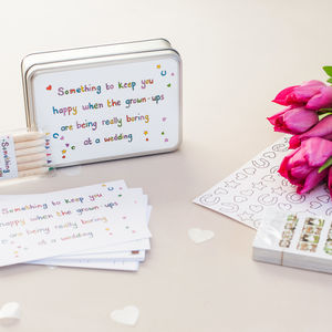 Wedding Table Activity Pack For Kids