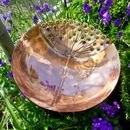 Dandelion Copper Garden Sculpture