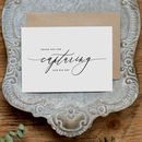 Thank You Card For Wedding Photographer