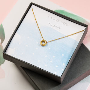 Love You Mummy Necklace Giftbox