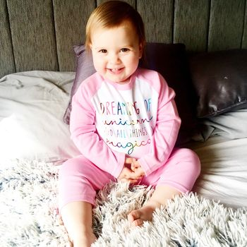 Rainbow 'Unicorn' Pyjamas