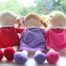 Rag Dolls Ellie, Susie And Lily