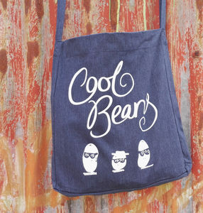 Cool Beans Tote Bag 100% Recycled - bags, purses & wallets