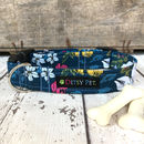 Botanical Floral Dog Collar